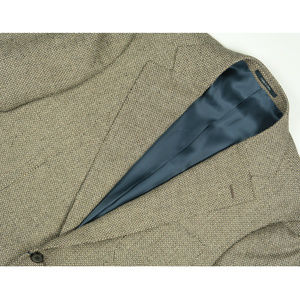 SuitSupply Hudson Silk Wool Linen Birdseye Blazer